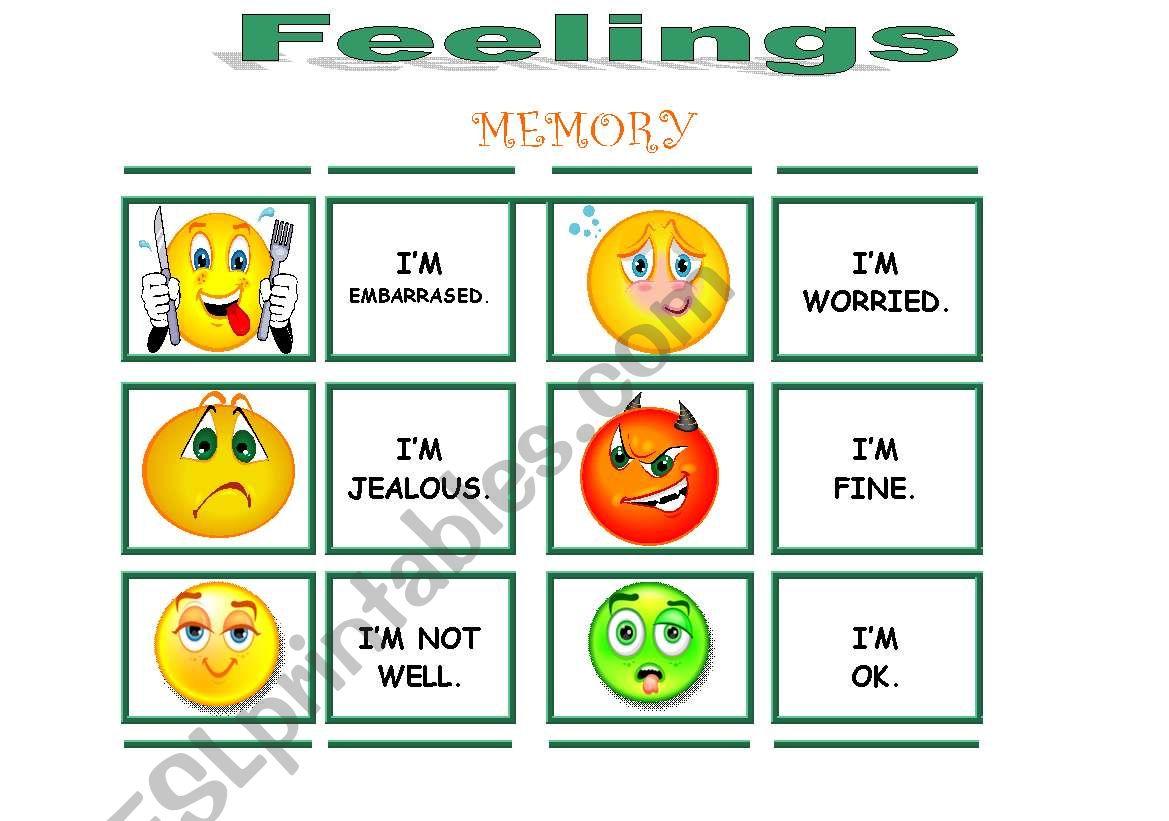 Feelings Memory Very Complete 2 3