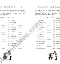Gh Silent Words Worksheet   Printable Worksheets and Activities for  Teachers [ 821 x 1169 Pixel ]