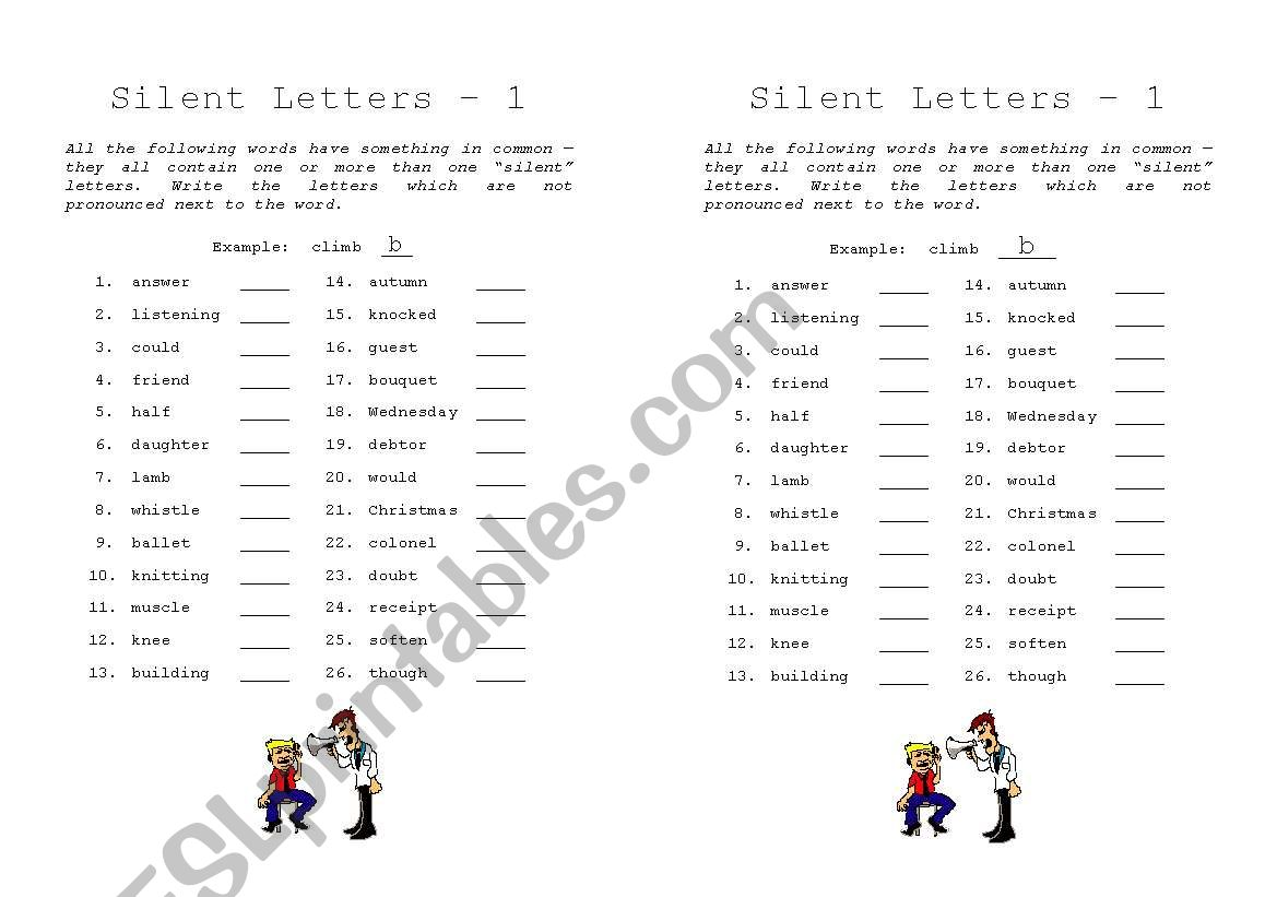 hight resolution of Gh Silent Words Worksheet   Printable Worksheets and Activities for  Teachers
