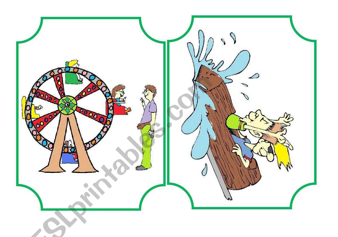 Funfair Flashcard And Activities Set