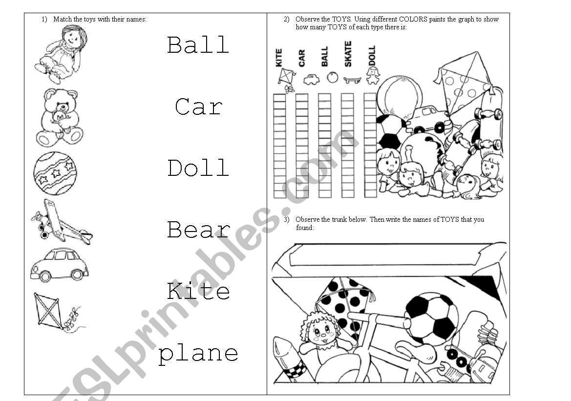 Toys Activities