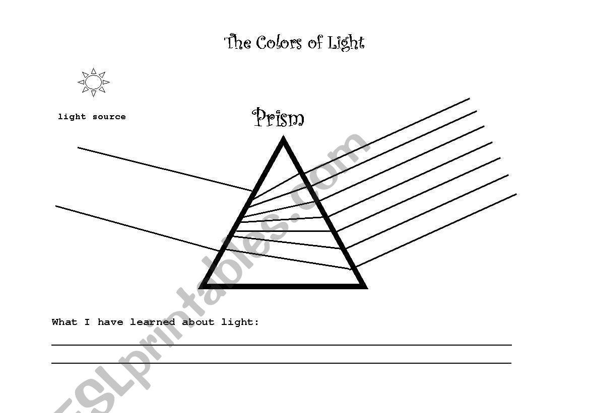 English Worksheets Prism