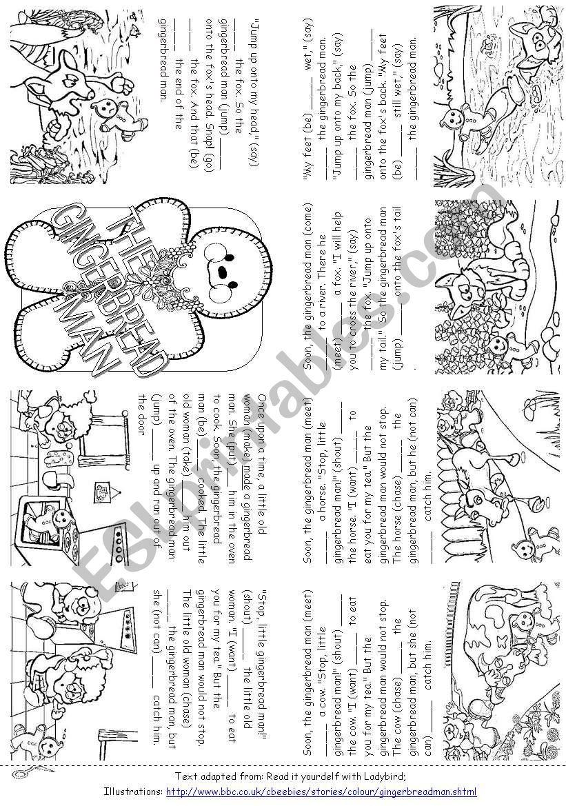 gingerbread man book pdf