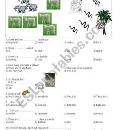test for 4th grade - ESL worksheet by hmais [ 1169 x 821 Pixel ]