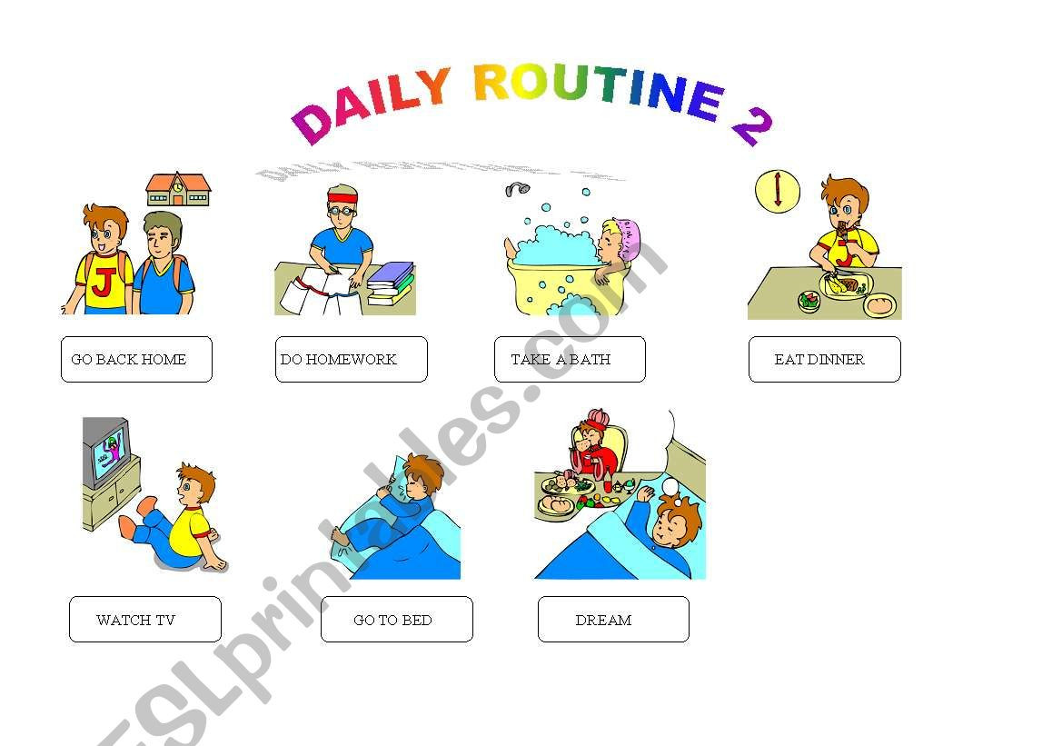Daily Routines 2