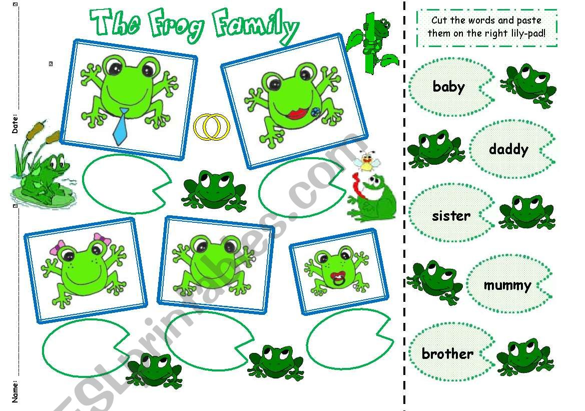 The Frog Family