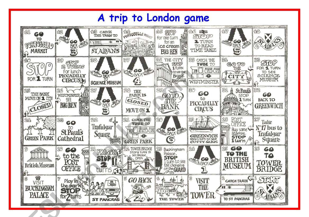 A Trip To London Game