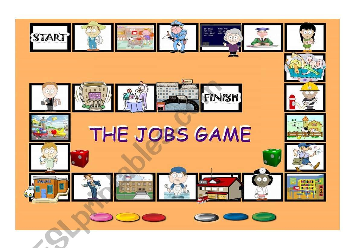 The Jobs Board Game