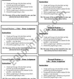 Personal Hygiene - ESL worksheet by roxyboo [ 1169 x 821 Pixel ]