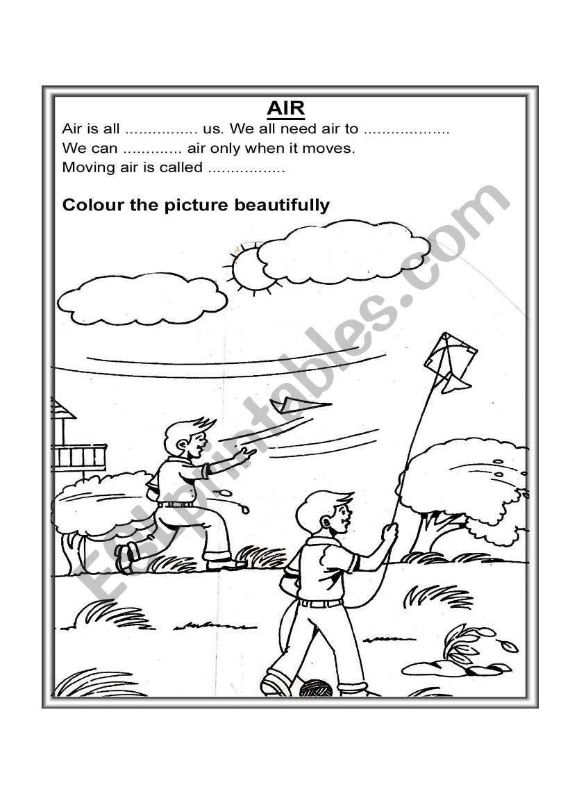 English worksheets: AIR