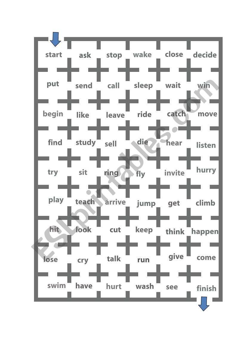 V Ing Maze