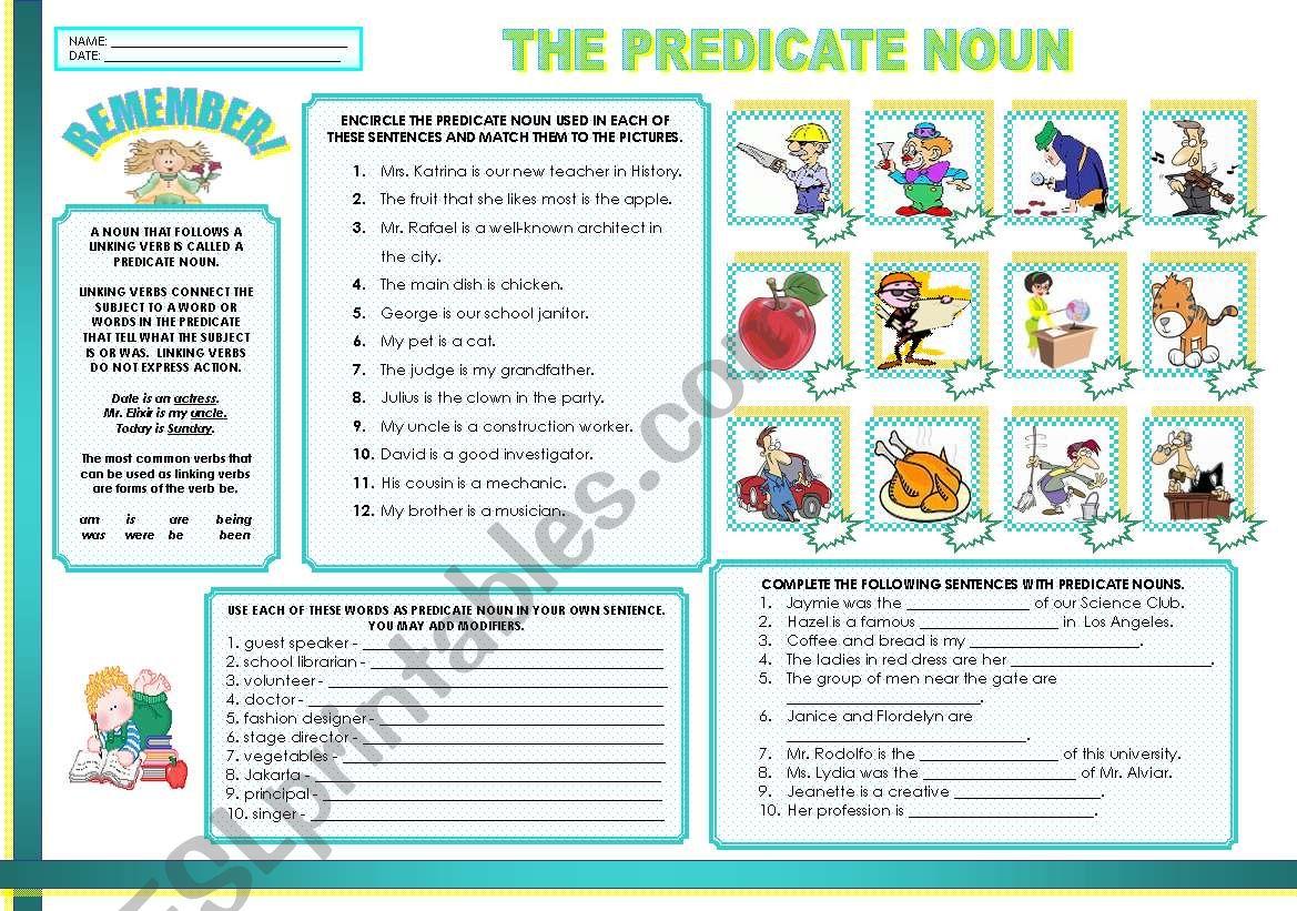 The Predicate Noun