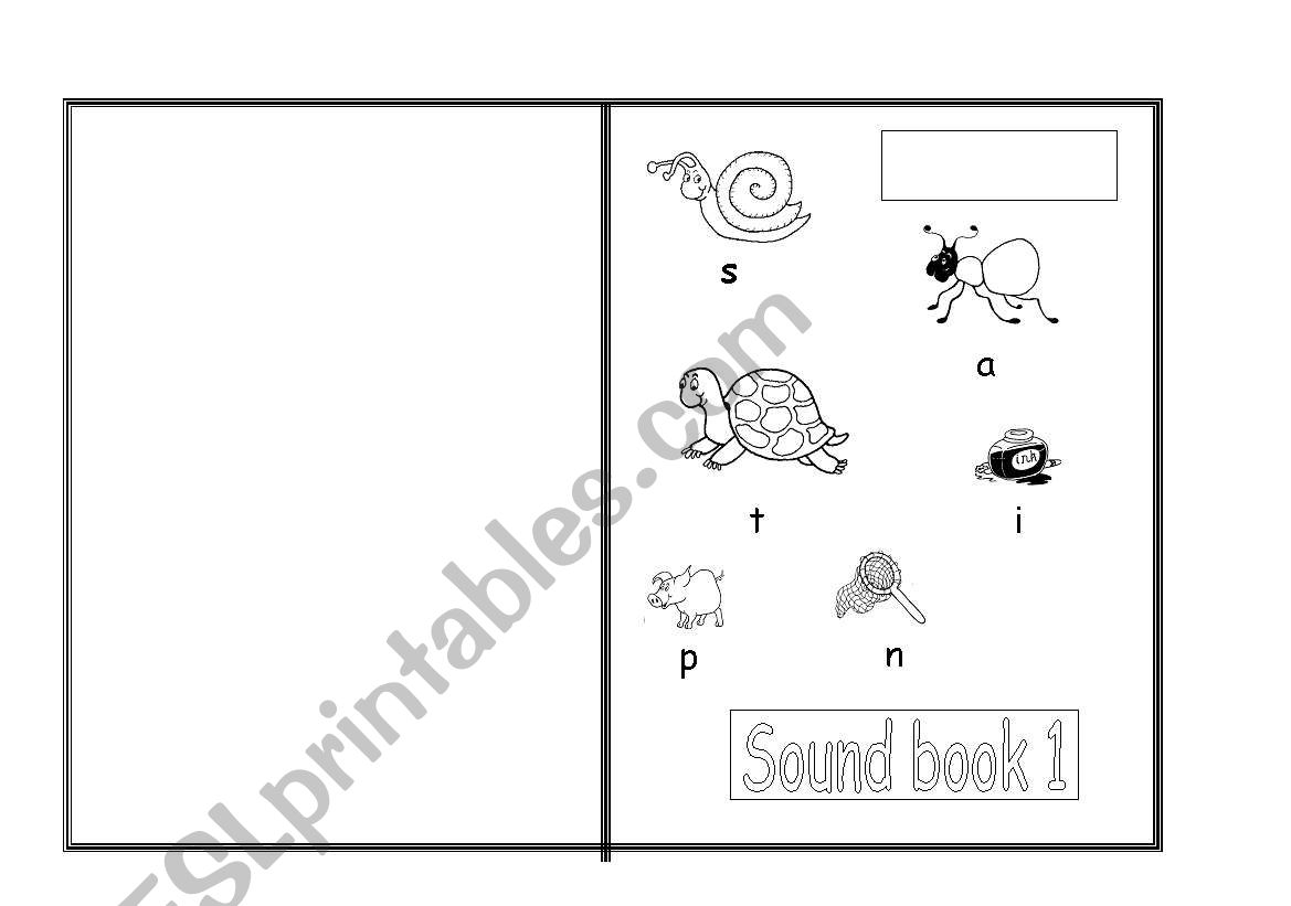 English Worksheets Sound Book 1 To Work With Phonics