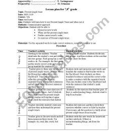 English worksheets: 8th grade lesson plan [ 1169 x 821 Pixel ]