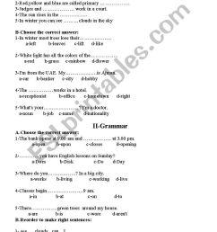 English worksheets: grade 7 test [ 1389 x 838 Pixel ]
