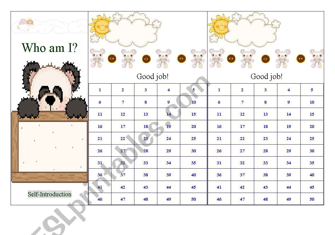 English Worksheets Stamp Or Sticker Board