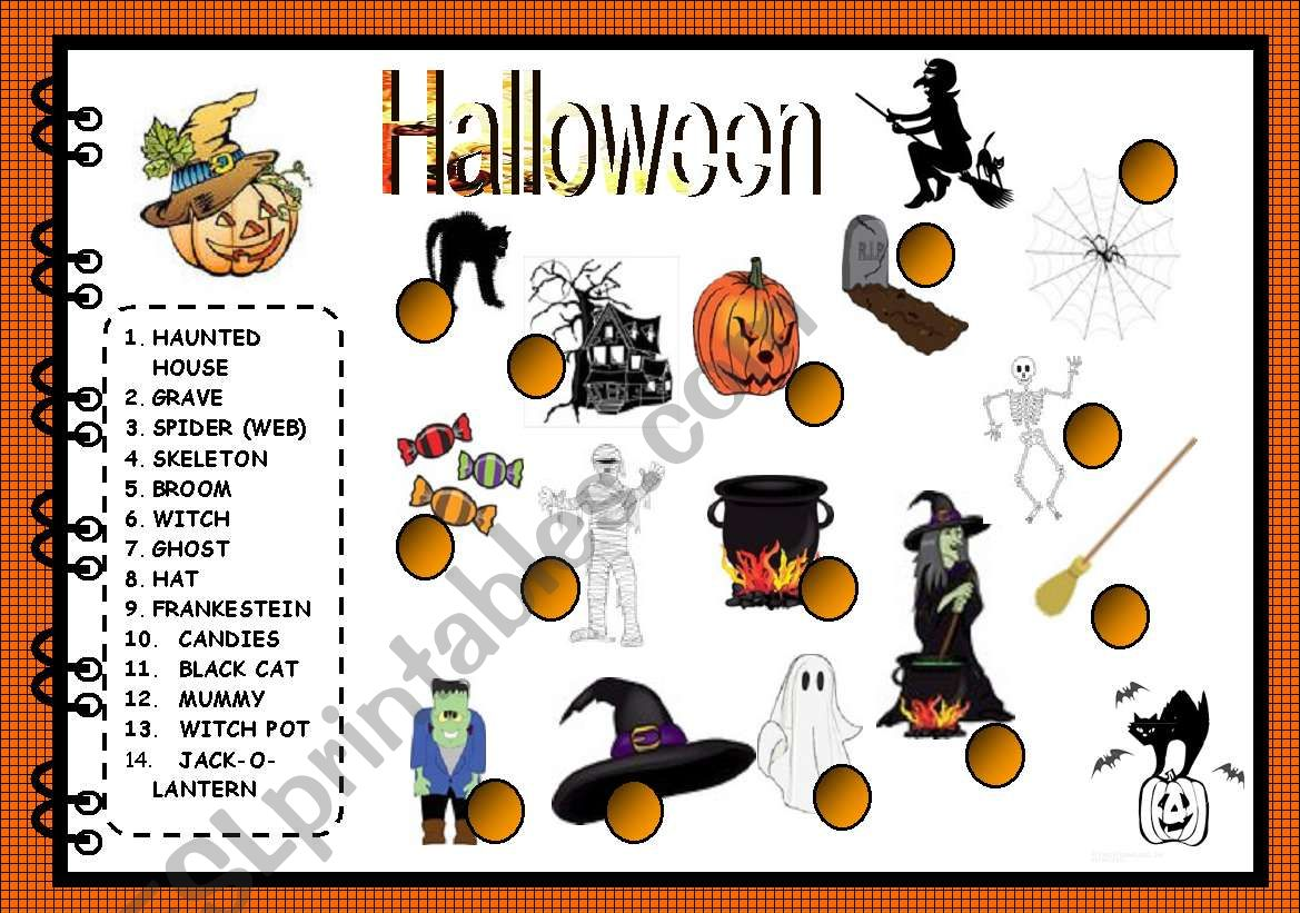 Halloween Matching Activity