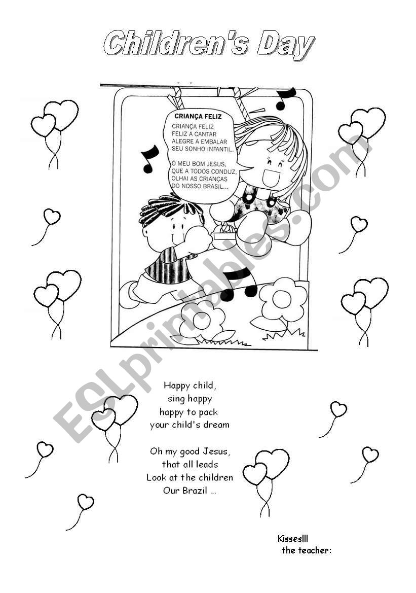 English worksheets: Children´s Day