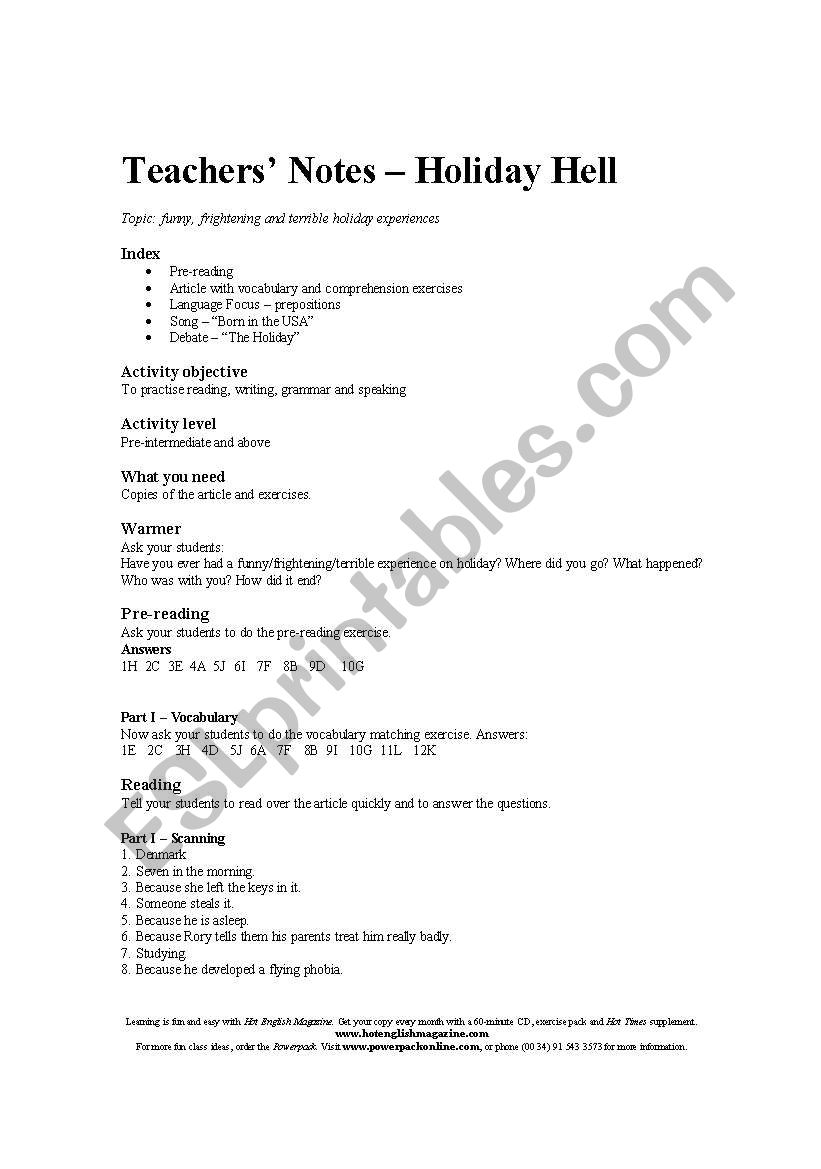 hight resolution of English worksheets: Reading comprehension