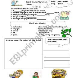 Social studies assessment worksheet - ESL worksheet by alina2 [ 1169 x 821 Pixel ]