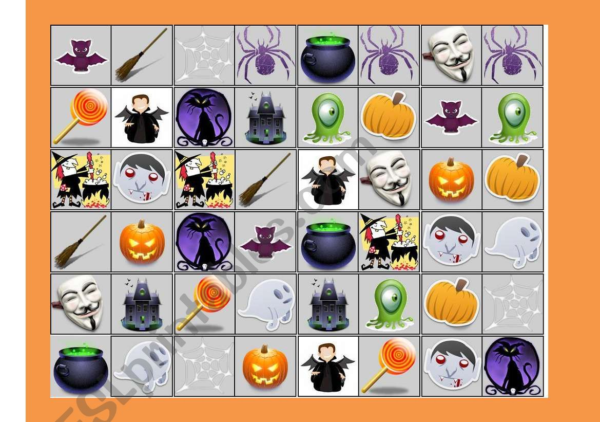 Halloween Dominoes Set 2