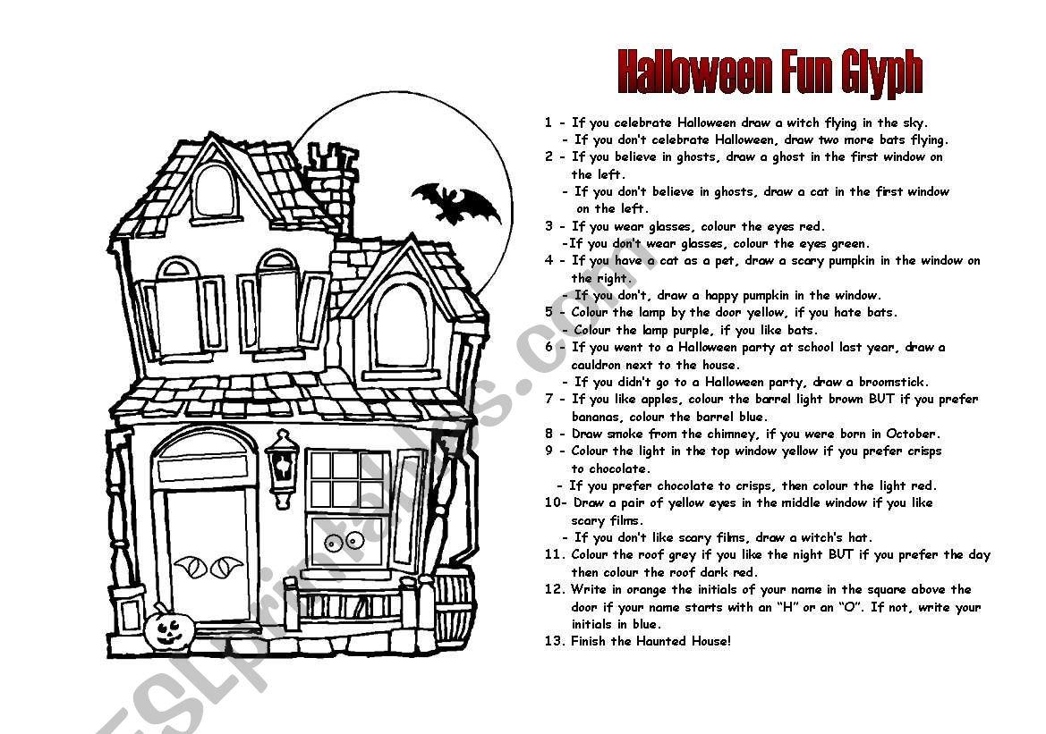 Halloween Glyph