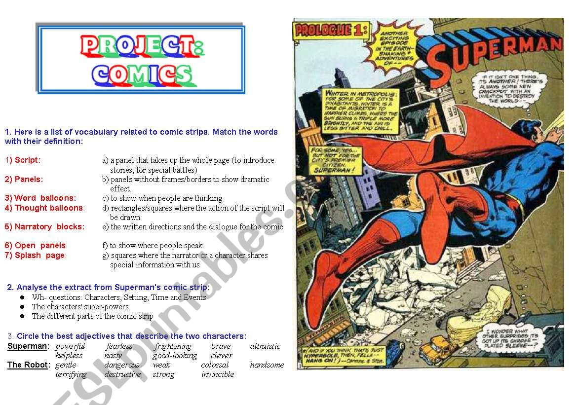 Comics Part 1 Of 5