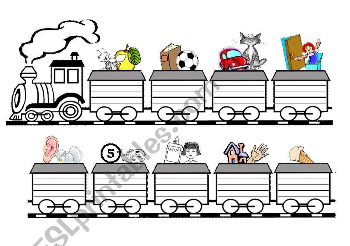 Alphabets Train