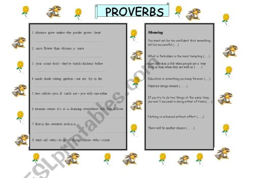 small resolution of Proverbs And Adages Worksheet   Printable Worksheets and Activities for  Teachers