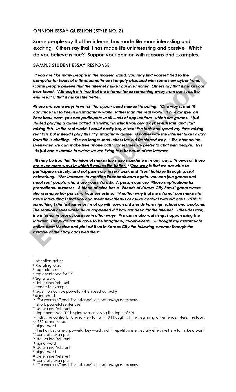 medium resolution of diagram of opinion essay for toefl ibt independent task