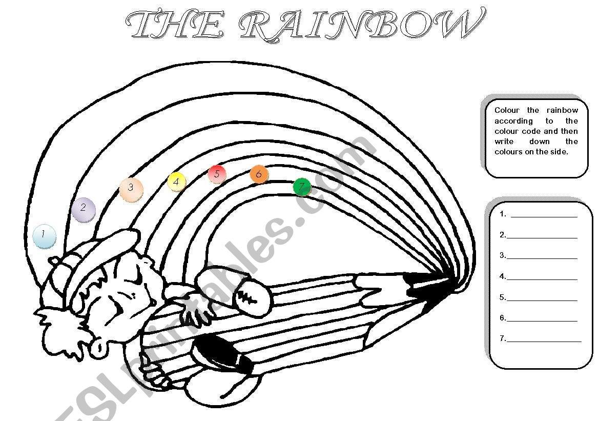 Colours The Rainbow