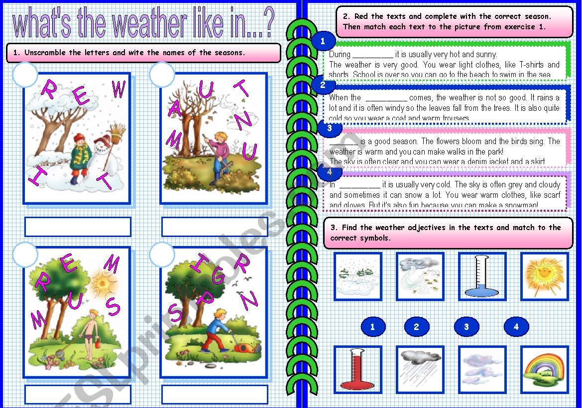 Weather And Seasons 2