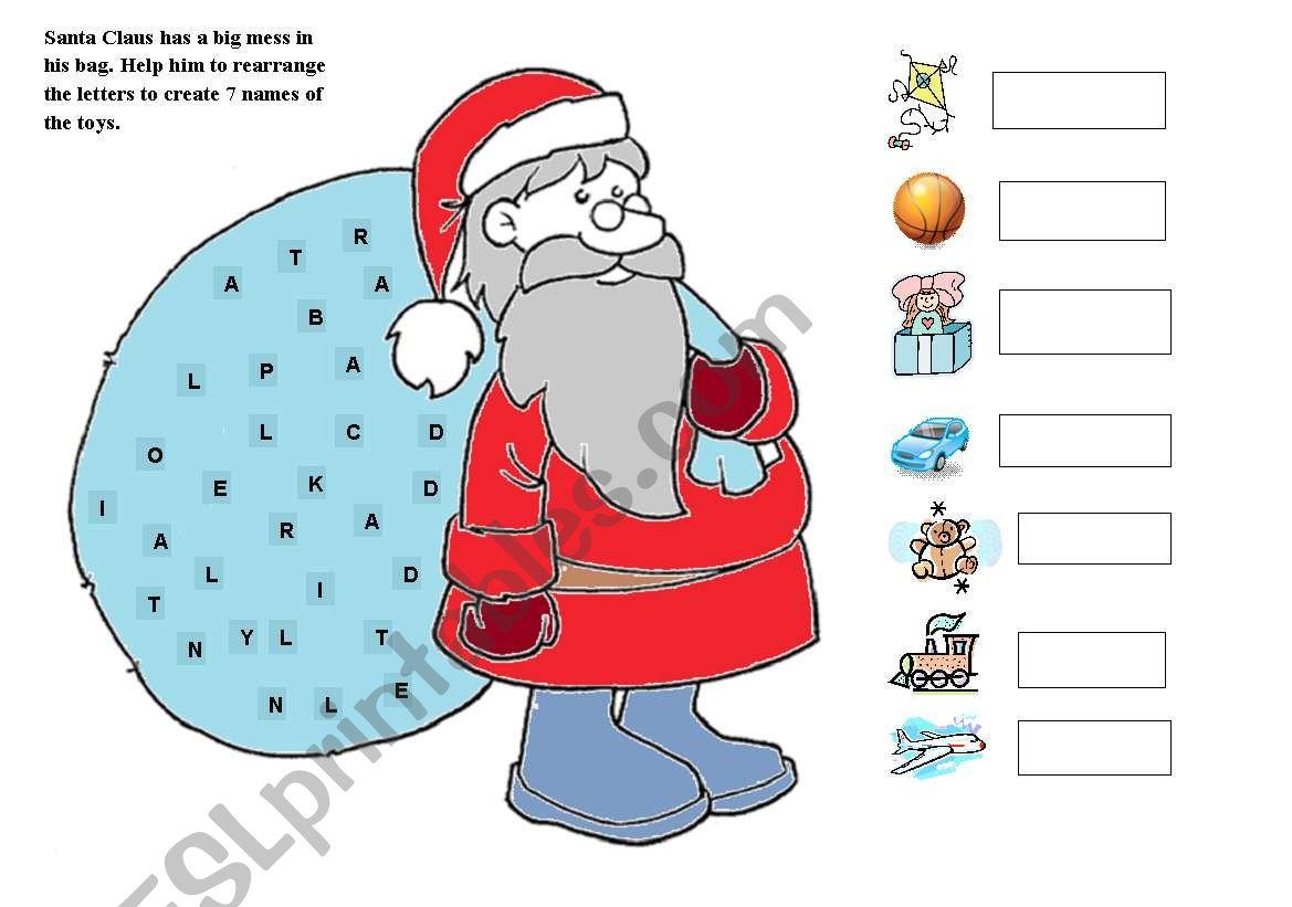 Santa And His Presents