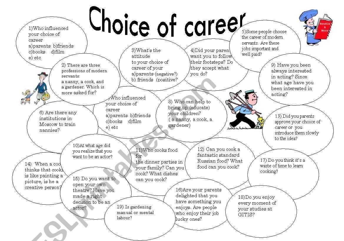 Choice Of Career