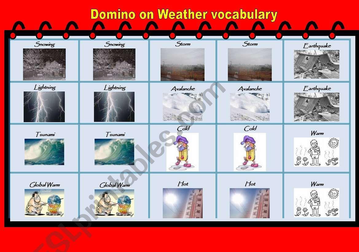 Weather Domino
