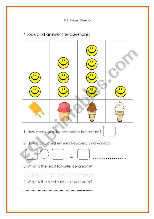 small resolution of Data Handling - ESL worksheet by Noora Mohammed