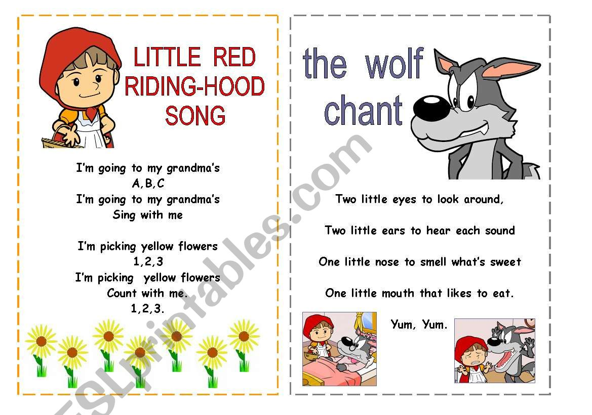 Song And Chant Little Red Riding Hood