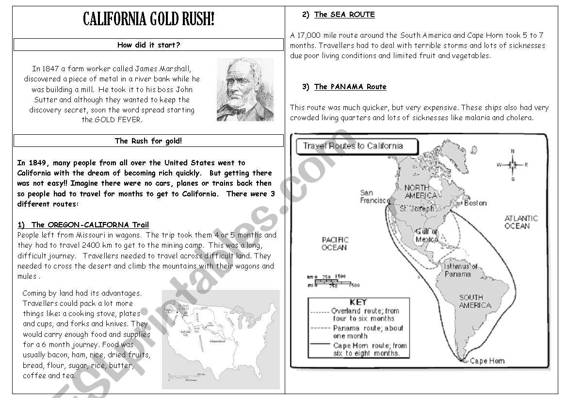 California Gold Rush Part 1