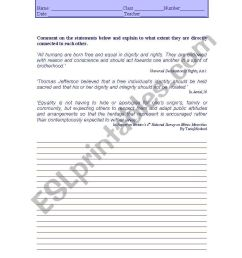 Writng activity 12th grade - ESL worksheet by LuciaRaposo [ 1169 x 821 Pixel ]