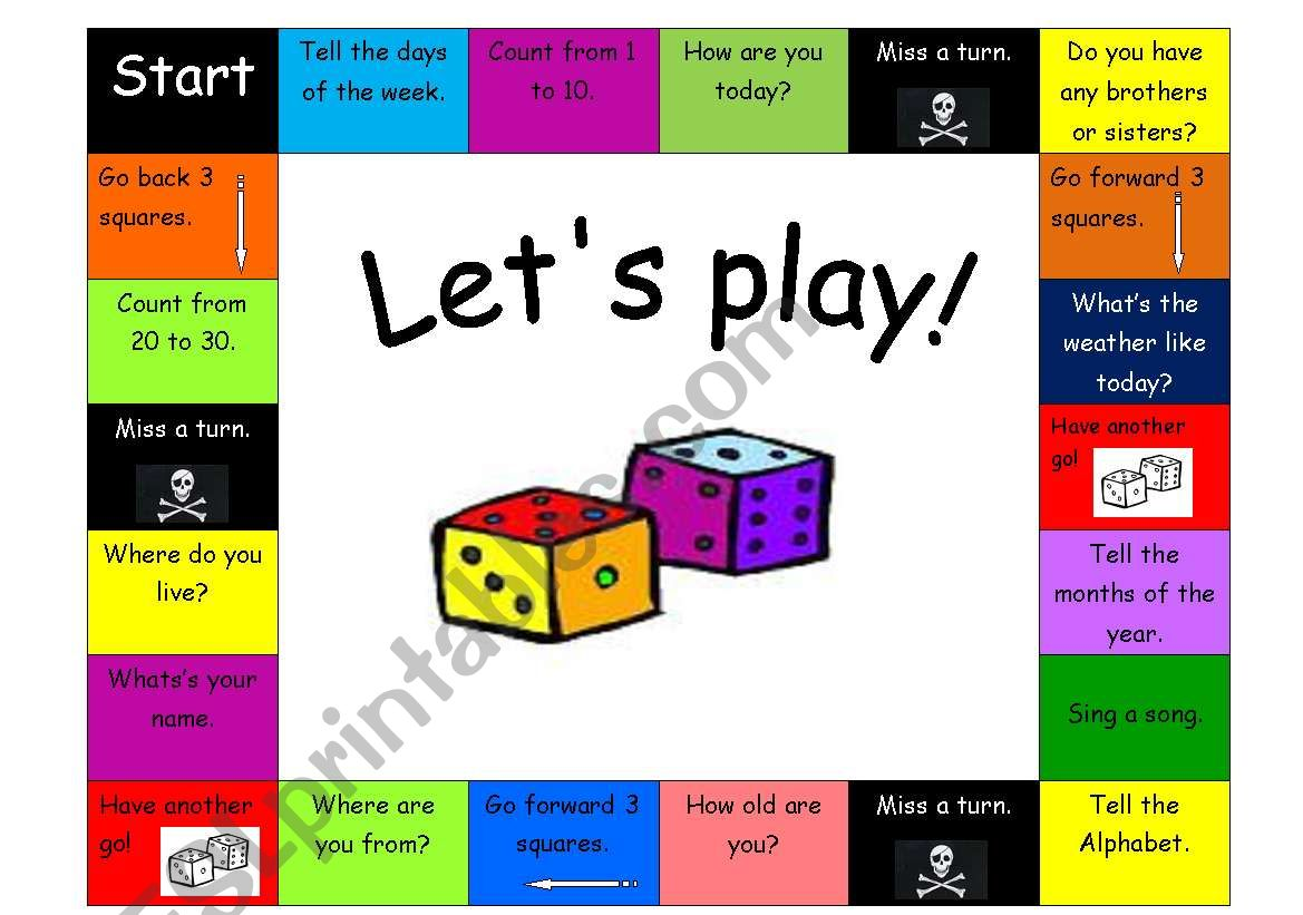 General Revision Boardgame