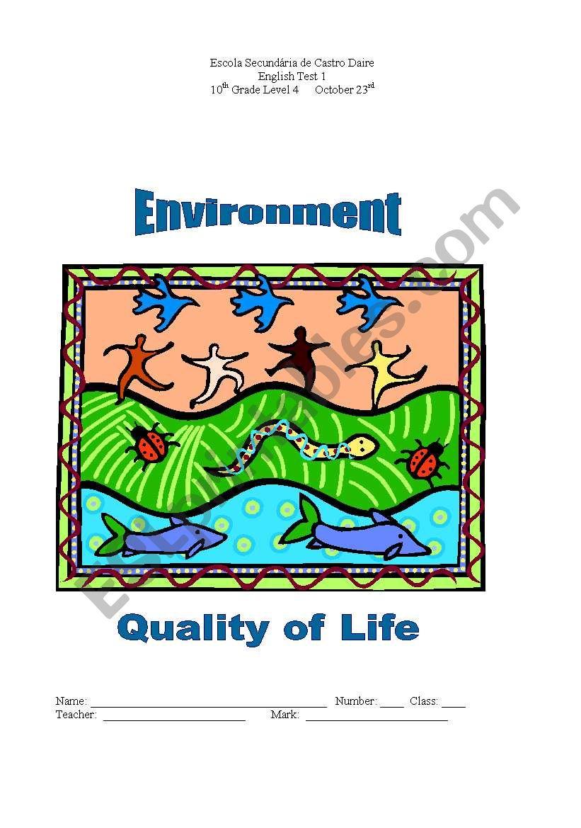 hight resolution of climate change - ESL worksheet by margaridavis
