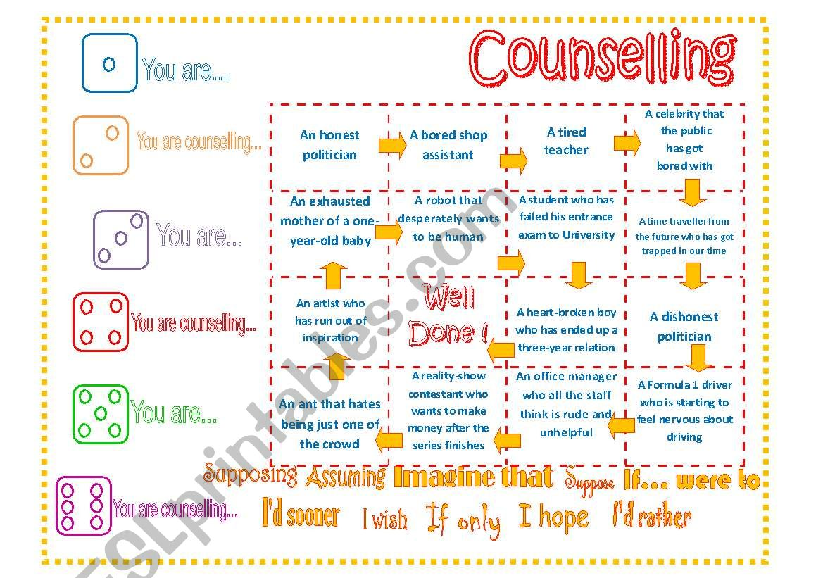 Second Conditional Counselling Board Game