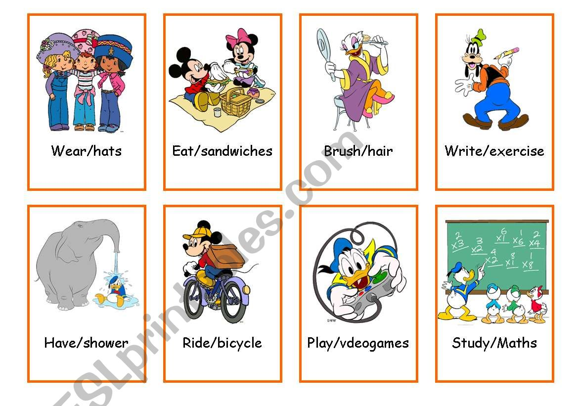 Tenses Flashcards 3 3