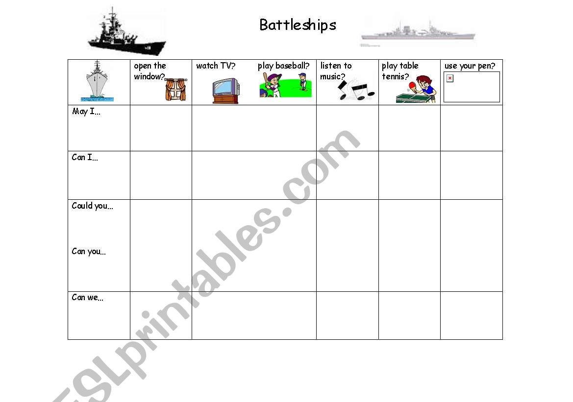 May I Play Battleships
