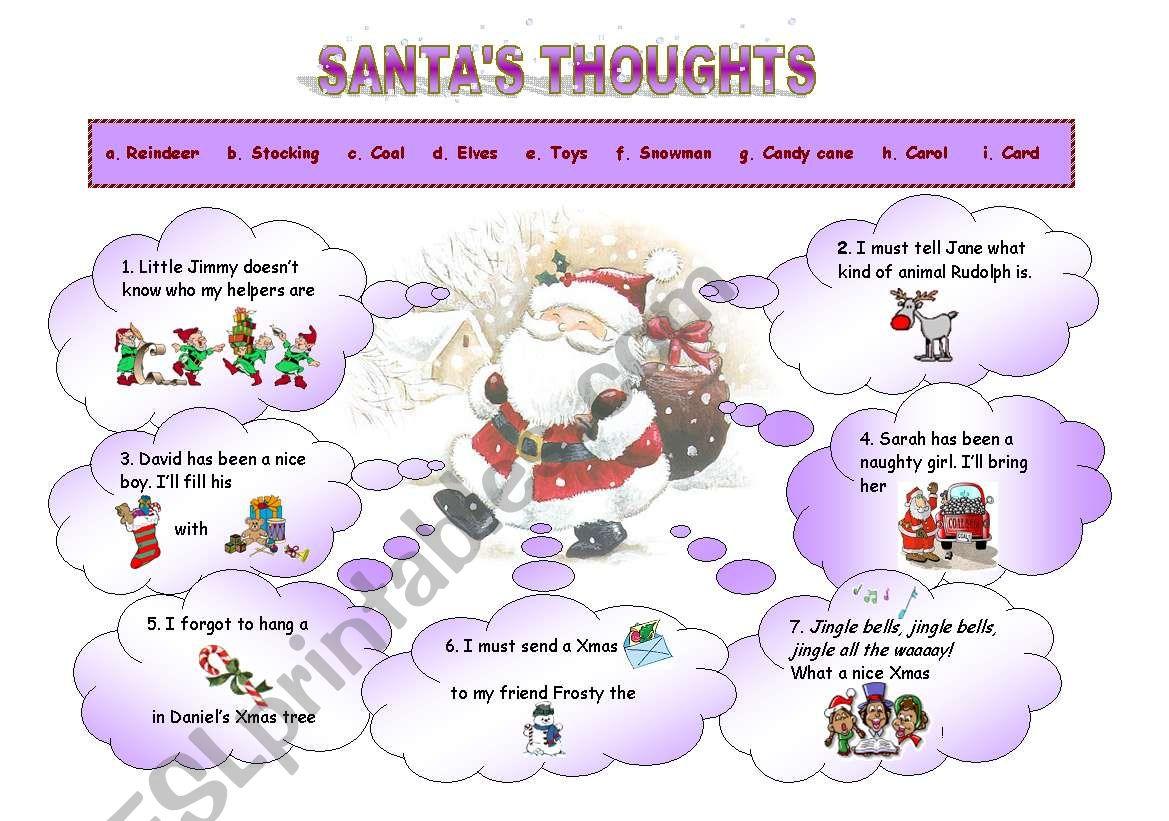 Santa S Thoughts