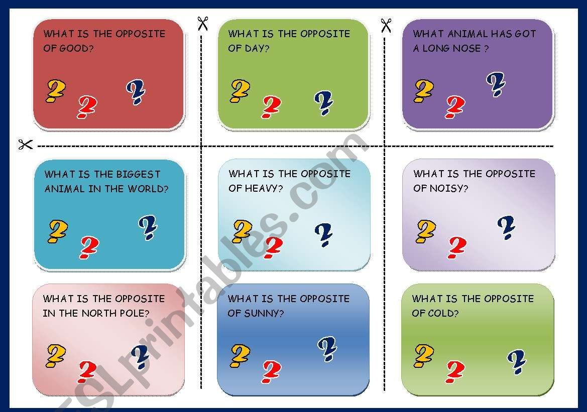 Trivial Cards
