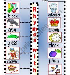 Consonant Blend Words - Letter [ 1169 x 821 Pixel ]
