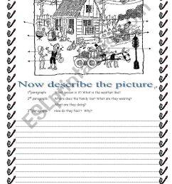 Creative writing - ESL worksheet by gracemb04 [ 1389 x 838 Pixel ]