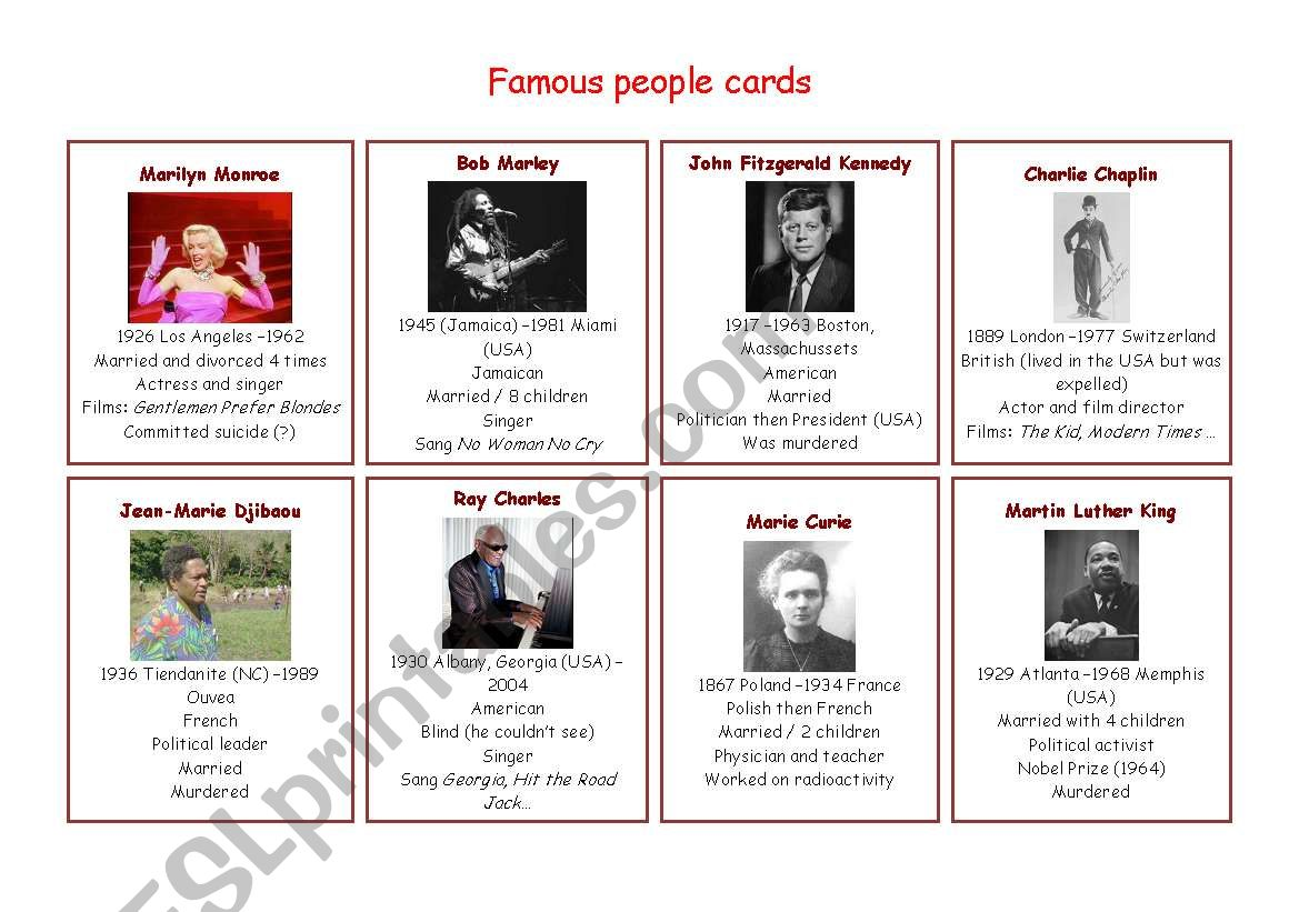 Simple New Yorker Biography Of Famous People