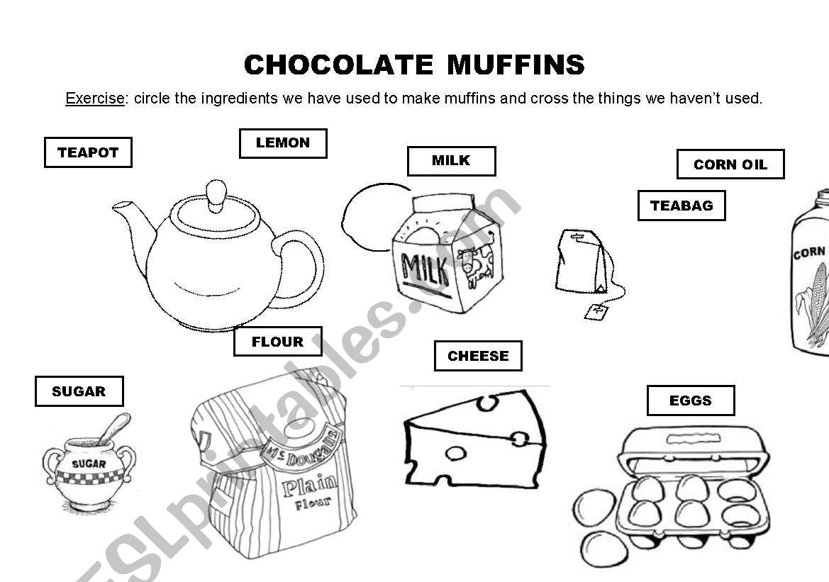 Chocolte Muffins Recipe And Exercise